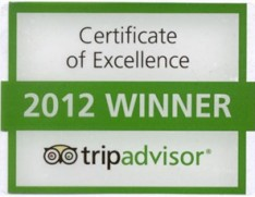trip advisor awards Greens of Grasmere